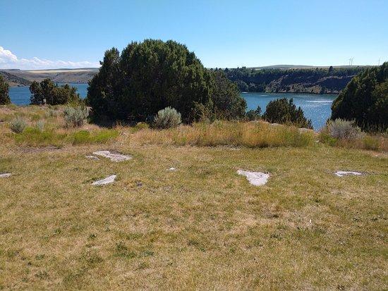 Ririe, Айдахо: Lake view.