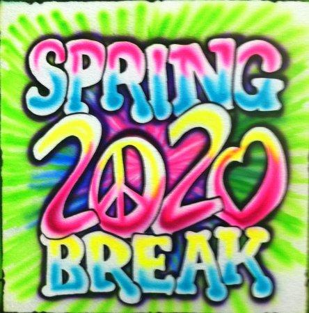 Tropical Jon Studio: SPRING BREAK 2020