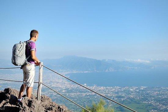 Mt Vesuvius, Pompeii & local wine tour...