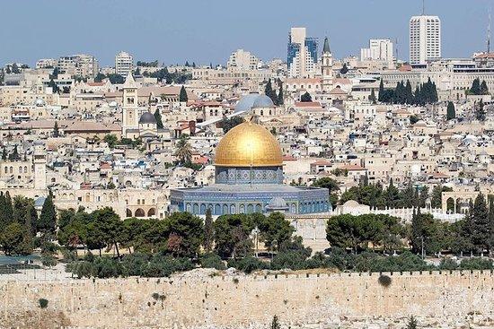 Jerusalem, Qasr al-Yahud und die Tour zum Toten Meer von Jerusalem...