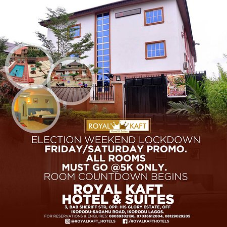 Royal Kaft Hotel The best place in Ikorodu  to relax and experience home away from home.
