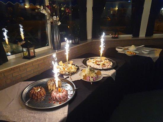 Deurningen, Nederland: dessert