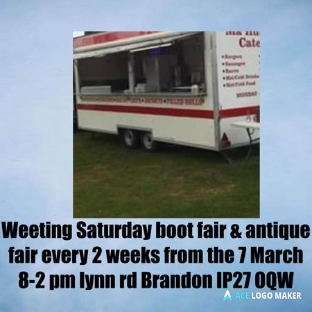 Brandon, UK: We hope to see you there at how very friendly boot fair