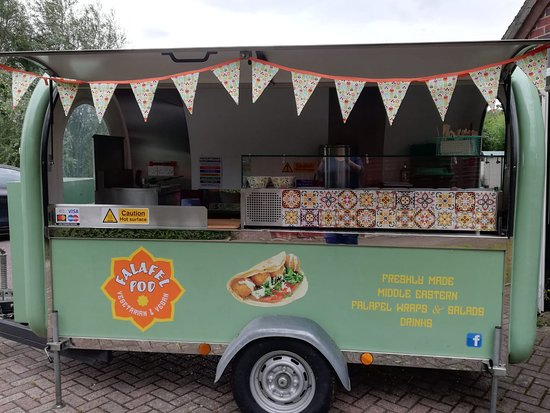 Stonehouse, UK: Authentic middle eastern falafels served from our street food pod.