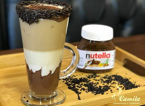 Araquari, SC: Café Mocca com Nutella
