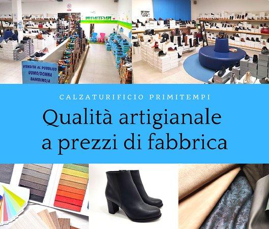 Monte Urano, Italy: Qualità artigianale a prezzi di fabbrica