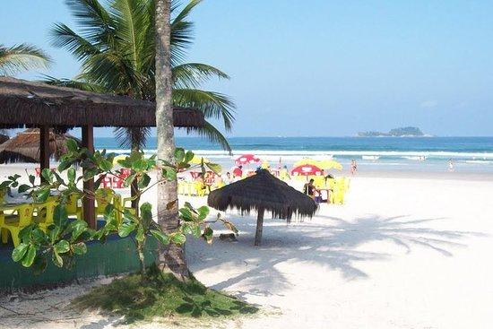 ブラジル、サンパウロ周辺のビーチのプライベート...