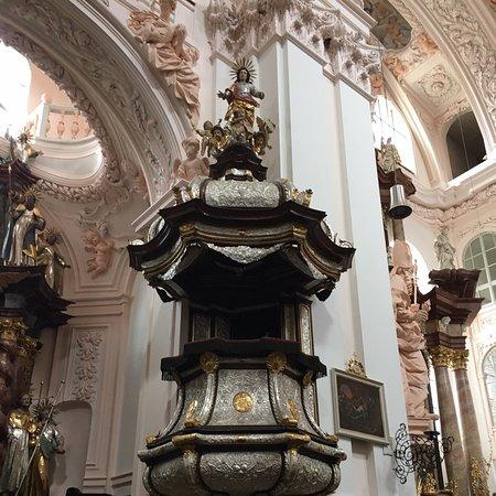 Kloster wessobrunn-sehr sehenswert. Frisch renoviert, sehr schön geworden!