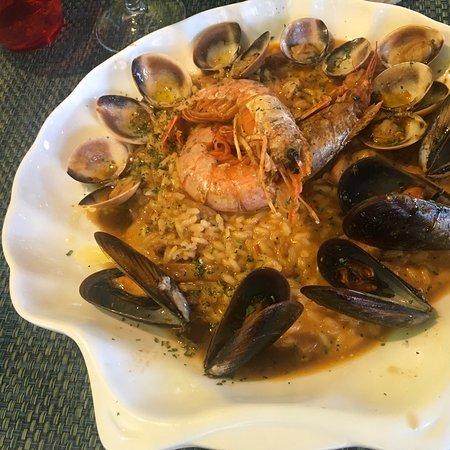Excelentes platos mediterráneos.