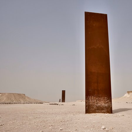 EAST-WEST / WEST-EAST by Richard Serra