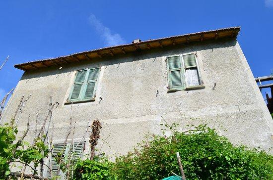 Davagna, Italia: typical Ligurian abandoned house