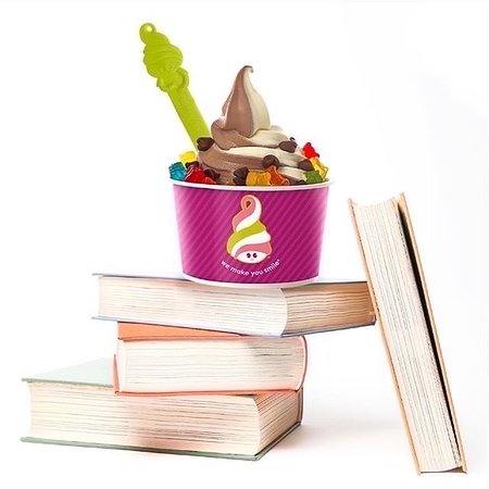 Pico Rivera, CA: Menchie's is part of the community.  We encourage schools by helping students read.  We provide schools with reading vouchers to encourage read. For more details go to www.menchiespico.com