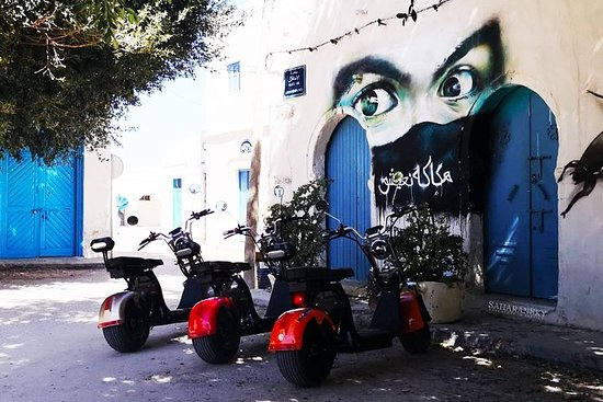 Djerbahood 2 horas E-Scooter Harley...