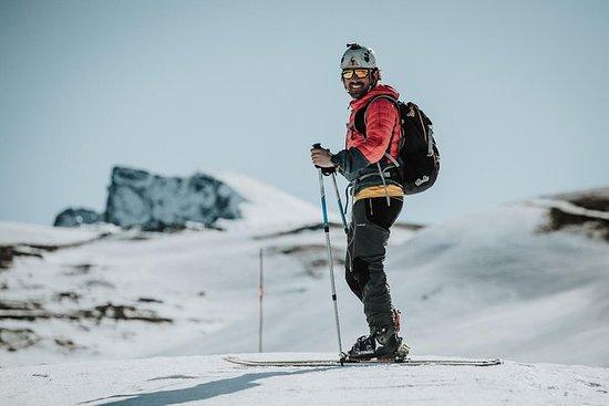 Ruta esqui de montaña
