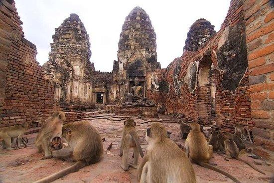 Visite privée d'Ayutthaya et du temple des singes de Lopburi (depuis...