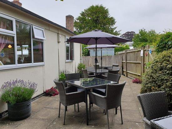 Otford, UK: The lovely garden!