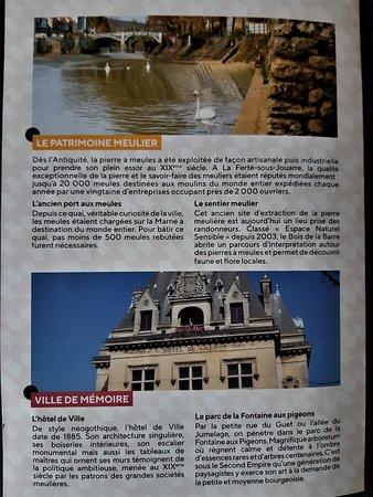 Ла-Ферт-су-Жуар, Франция: Dépliant