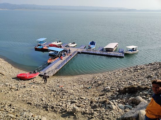 Boating Point - Ranjit Sagar Lake