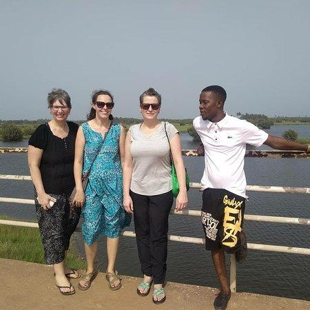 Ganvie, Бенин: Djègbadji un coin où l'on utilise le sable pour fabriquer du sel. A visiter absolument !
