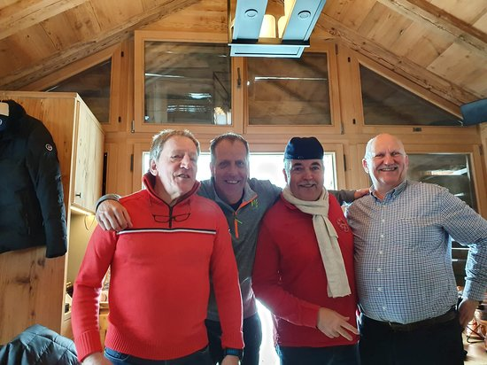 Lauenen, Suiza: Quelle équipe !