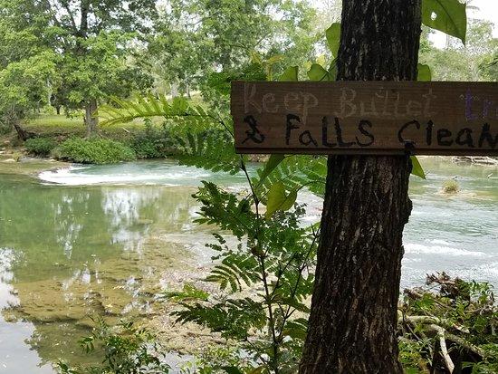 Bullet Tree Falls, Белиз: Beautiful! Nature's love!