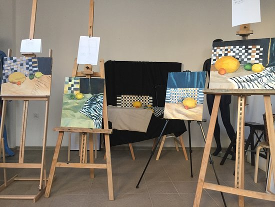 Opole, Polska: Pracownia, w której nauczysz się warsztatu malowania!