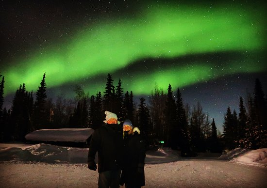 Coldfoot, AK: Under the Lights in Wiseman
