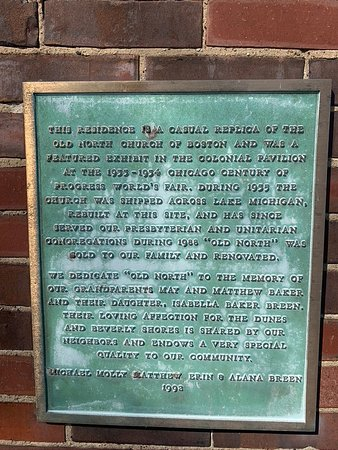 Beverly Shores, IN: plaque