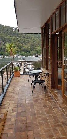 Berowra Waters, Австралия: Veranda - Penthouse