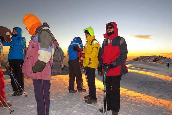 Machame Route Kilimanjaro Climbing Tanzania with AFRICA NATURAL TOURS L.T.D