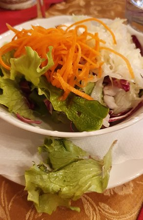 Jesenice, Slovenia: Nice salate but could you just remove the rotten piece