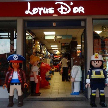 Quatre Bornes: Entrance of the shop  in Trianon  La city Shopping Mall