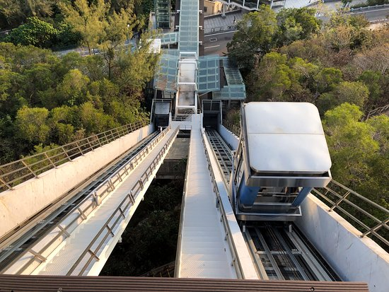 Inclined Elevator (Grand Taipa Viewing Platform)