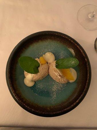 Аарберг, Швейцария: Dessert -> mousse aux marrons