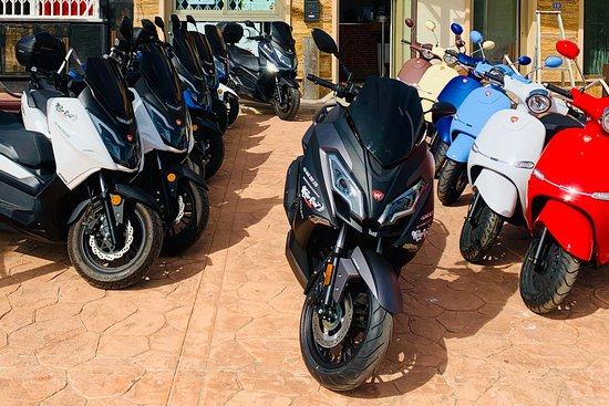 Motor rent - Orihuela - Torrevieja scooter rental