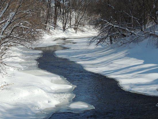 Saint-Lin-Laurentides, Canada: Les magnifiques paysages des Laurentides en hiver