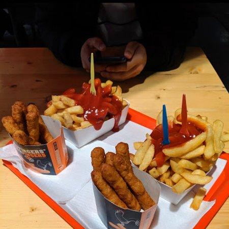 Fresh fries+chix fingers
