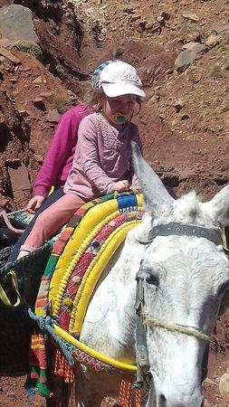 Tizi Oussem, Марокко: Balade à dos de mule