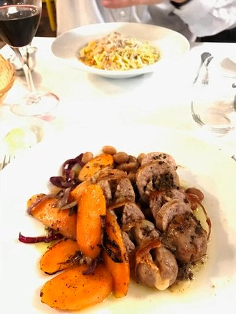 Main dish - Black Sausage