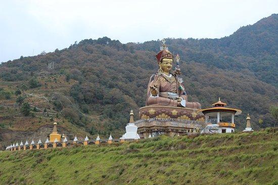 Lhuntse District, Бутан: Takila Guru Statue