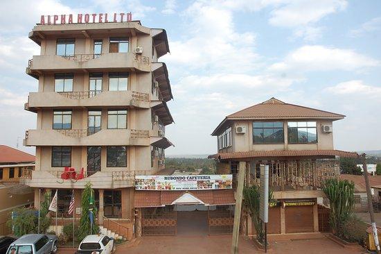 Geita, Tanzania: Hotel building