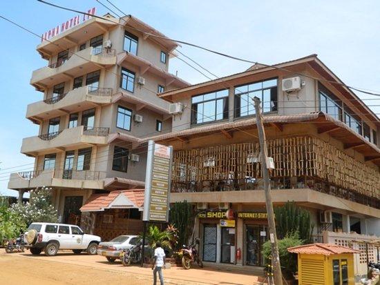 Geita, Tanzania: Entrance