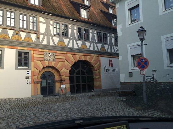 Prichsenstadt, เยอรมนี: Hotel Freihof 97357 Prichsenstad  très bien