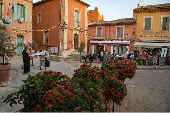 Excursion dans le Luberon au départ d'Avignon, entrée au musée de la...