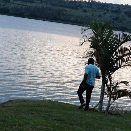 Провинция Кигали, Руанда: Enjoying the wonderful scenery at Cyohoha camping site.