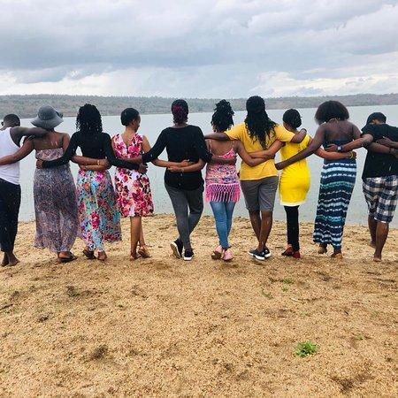 Провинция Кигали, Руанда: Team building at Cyohoha camping site