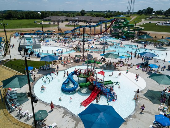 Sainte Genevieve, MO: River Rapids Waterpark began construction in April of 2018 and will celebrate opening day in the summer of 2019 in the Ste. Genevieve County Community Center complex. This waterpark is the largest in the area, and features a wide array of attractions for people of all ages, from daring water slides to a rock climbing wall to a lazy river and beyond!