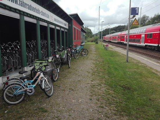 Historischer Natur Bahnhof Chorin