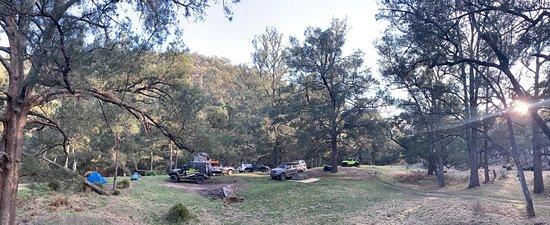 brilliant spot camping near the river.