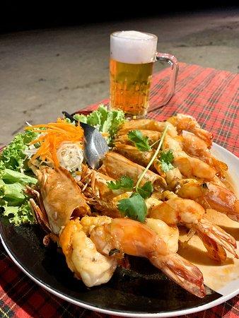 Pak Nam, Таиланд: Thangleuak Seafood Restaurant